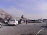 大混雑の駐車場2