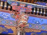 拝殿の装飾5