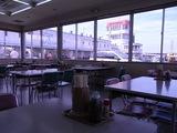 サーキット内の食堂