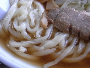 佐野ラーメン森田屋総本店の中華そばの麺