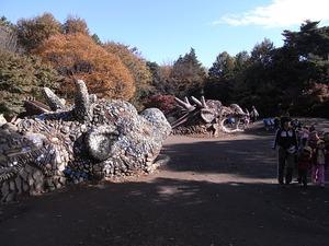 昭和記念公園の龍
