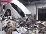 被災した釜石市街の様子2