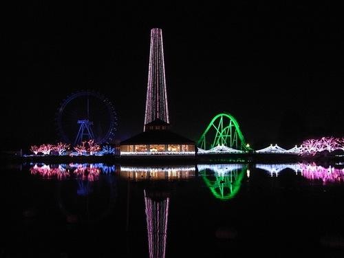 東武動物公園クリスマスイルミネーション00