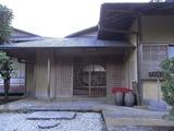 瓢月亭の玄関