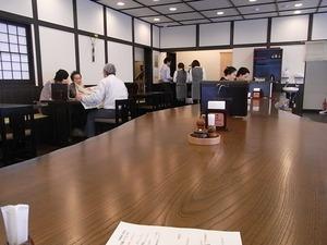 稲庭うどん佐藤養助商店総本店店内の様子