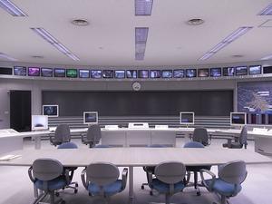 首都圏外郭放水路庄和排水機場 地底探検ミュージアム龍Q館 コントロール室