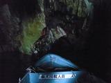 青の洞窟に入る