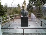 南総里見八犬伝6-滝田城址伏姫像2