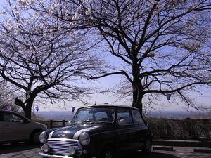 太平山 謙信平の駐車場