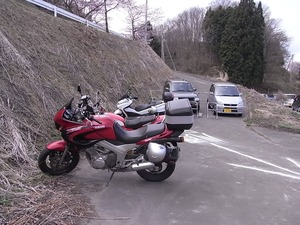 三春滝桜駐輪場