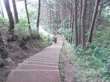 第二展望台への階段1