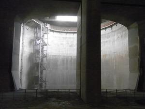 首都圏外郭放水路庄和排水機場 地底探検ミュージアム龍Q館 地下回廊巨大竪坑1