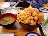 保田漁協直営食事処ばんや7-イカかき揚げ丼