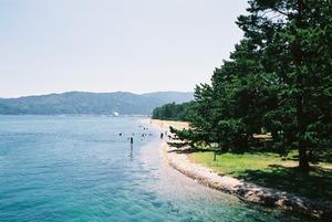 日本三景天橋立 海岸線