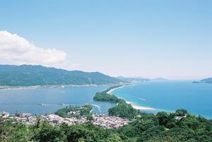 日本三景天橋立全景