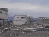被災した陸前山田の光景4