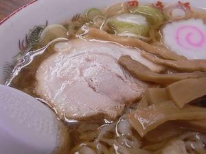 佐野ラーメン岡崎麺のチャーシューアップ