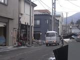 被災した釜石市街の様子3