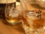 ロンサカパグラスと白州グラス