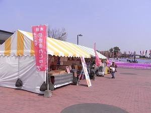 太田市北部運動公園 おおた芝桜まつり 出店アップ