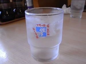 佐野ラーメンおぐら屋の水