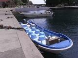 乗ったサッパ船
