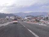 被災した陸前山田の光景3