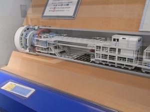 首都圏外郭放水路庄和排水機場 地底探検ミュージアム龍Q館 施設説明模型1
