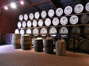 ニッカウヰスキー宮城峡蒸留所貯蔵庫内樽の種類