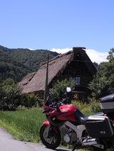バイクとツーショット01