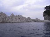 浄土が浜の奇形岩たち2