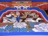 拝殿の装飾3