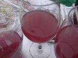 しぼりたてワイン赤のアップ
