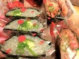 生しらす寿司と生桜えび寿司