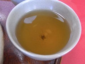 赤福ほうじ茶のアップ