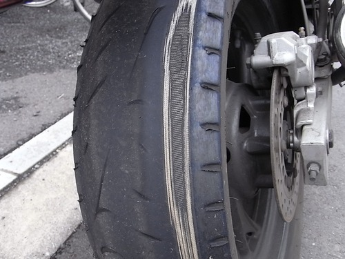 TEM850リアタイヤ