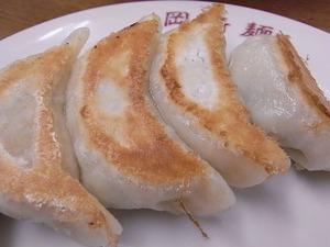 佐野ラーメン岡崎麺の餃子アップ