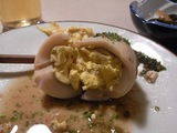 卵を割って