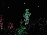 緑の雪だるま1