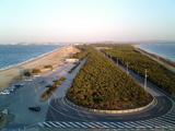 千葉県富津岬富津公園3-展望台からの眺め