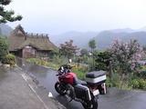 雨のかやぶきの里北村1
