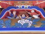 拝殿の装飾2