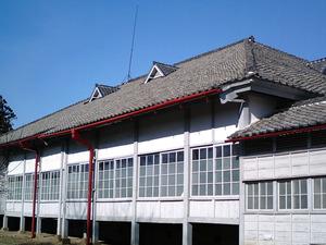 世界遺産 富岡製糸場 真っ白い外観のブリュナ館