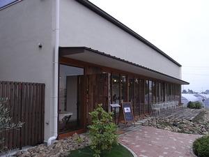 カフェ アンジェ・フレーゼ外観左側