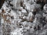 もこもこの氷柱2