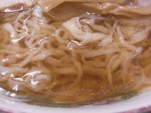 佐野ラーメン岡崎麺のスープアップ