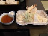 天ぷら盛り合せ全体