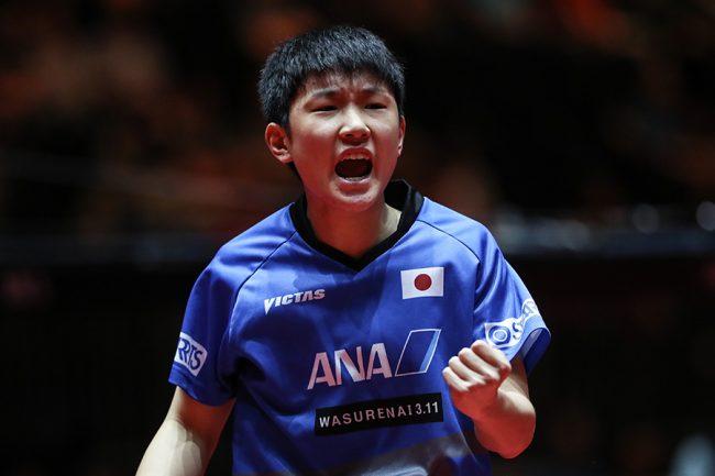 【卓球】14歳張本が水谷を下し史上最年少優勝!全日本選手権男子シングルス 卓球