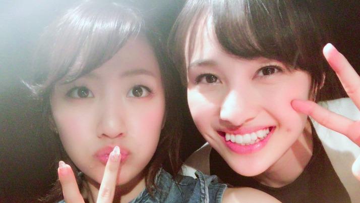 【エンタメ画像】元AKB48・高橋みなみ『夏菜子と久しぶりに会えたー 笑顔が可愛すぎてこっちが元気もらっちゃう』松井咲子「かわいい〜まぶしい〜天使〜」