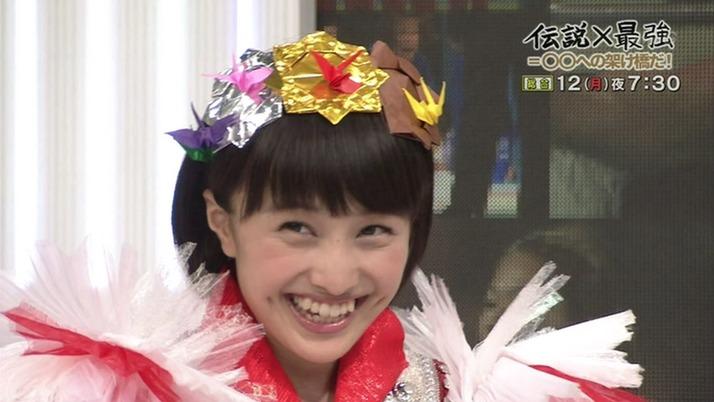 夏菜子『折り鶴を、金・銀・銅で...